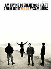 I Am Trying to Break Your Heart A Film About WILCO By Sam Jones DVD! 2-Disc Set!