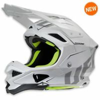 2019 UFO Diamond Motocross MX Enduro Helmet Large 59 - 60cm White