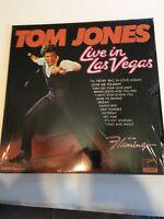 Tom Jones Live in Las Vegas LP Vinyl Record XPAS-71031 USA 1969 M w/ shrink wrap