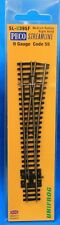 N Scale - PECO STREAMLINE SL-U395F UNIFROG Code 55 Medium Radius Right Hand