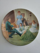 """Edwin Knowles """"The Sound of Music"""" Edelw 00006000 Eiss Collector' Plate 1987 5Th plate 8.5"""