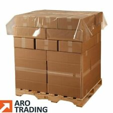 More details for pallet top cover sheets 1400x1400x30micron strong polythene sheeting for pallets