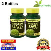 ARTICHOKE LEAVES 520MG ALCACHOFA DIGESTIVE LIVER HEALTH HERB SUPPLEMENT 180 CAPS