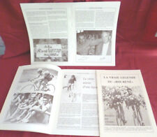 plaquette livre :  La vie du coureur  cycliste  René  VIETTO  tour de France