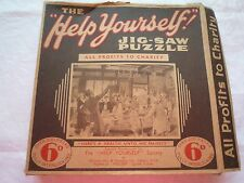 VINTAGE WELCOM RARE JIGSAW PUZZLE 'THE HELP YOUSELF' ALL PROFITS TO CHARITY