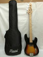 4 String Bass Guitar, Electric Bass, With Gig Bag New