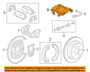 GM OEM Rear-Caliper 23387175