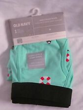 NWT MENS OLD NAVY TURQUOISE BIRD PRINT LONGER LENGTH BOXER BRIEF SIZE MEDIUM