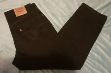 vintage LEVIS 550 Black Men's Relaxed Fit Jeans Size: W 36 L 30 VERY GOOD Cond