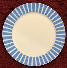 """Maxwell & Williams Dinner Plate Cashmere Allegro Blue Stripes and Bands 12"""" EUC"""