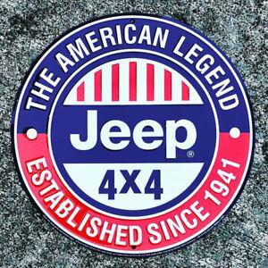 "Jeep® Parkschild ""JEEP® American Legend"" Merchandise Jeep-"