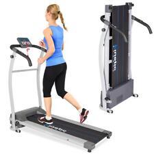Elektrisches Laufband mit LCD-Display Jogging Fitnessgerät Klappbar Heimtrainer