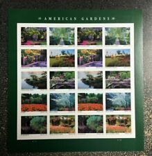 2020USA Forever American Gardens - Sheet of 20   mint postage flowers