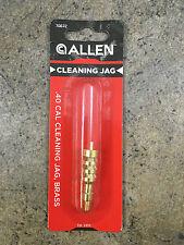 Allen Gun Cleaning Jag - Brass - 70672 for .40 Caliber 8/32 Threads