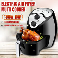1300W Electric Air Fryer Multi Cooker High Power Oilless  Fried Basket
