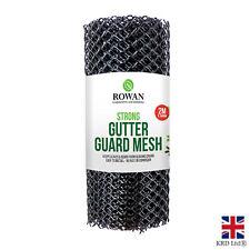 2M GUTTER GUARD MESH Drain Cover Leaf Debris Clog Plastic Wire Protector G1423