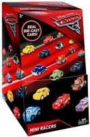 CARS 3 MINI RACERS DIECAST METAL BLIND BAGS PARTY TOYS DISNEY PIXAR FILM VEHICLE