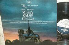 JEAN LANGLAIS*MASSES *MISSA SALVE REGINA *ERATO STU 70358*STEREO ORG 1st FRANCE