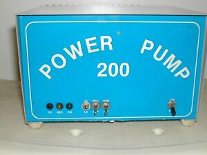 POWER PUMP 200 AMATUER RADIO BASE LINEAR 2 PILL WORIKS GREAT