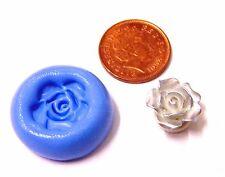 Rosa Reutilizables Molde de Silicona Pastelería Joyas tarjeta Topper alimentos seguros vs