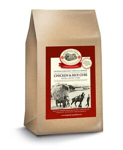 Chicken & Rice Dog food 15kg Hypoallergenic Joint Care Plus Green Lipped Mussel