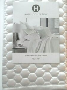 NIP HOTEL COLLECTION OLYMPIA QUILTED STANDARD SIZE PILLOW SHAM