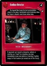 Star Wars CCG: Hoth Black Border, ComScan Detection
