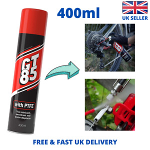 GT85 Multi-Purpose PTFE Spray Lubricant Penetrant and Water Displacer 400ml NEW