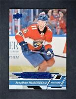 2018-19 Upper Deck UD Series 1 Overtime Blue #7 Jonathan Huberdeau