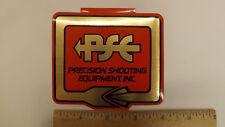 "Vtg PSE Archery Percision Shooting Equipment Metallic  4"" Decal/Sticker"