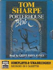 Tom Sharpe Porterhouse Blue 6 Cassette Audio Book Unabridged Griff Rhys Jones