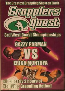 Grapplers Quest 3rd West Coast Championships Gazzy Parman Vs Erica Montoya DVD