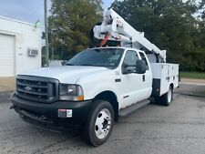 2004 Ford F-550 Bucket Boom truck, 42 foot Altec insulated boom, extended cab