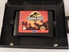 Jurassic Park (Sega Genesis, 1993) Box and Cartridge
