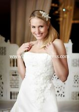 Taffeta A-line Strapless Wedding Dresses