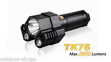Fenix TK76 Cree XM-L2 U2 x2+XM-L2 T6 LED 18650 2800lm LED Flashlight