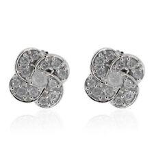 Fabulous 9K W Gold GSL Certified Diamond (I3 / G-H) Stud Earrings 0.330 Ct.