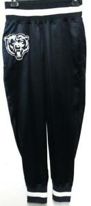 Womens TOUCH Active Chicago Bears Silky Banded Pant w/ Logo, Size Small ABEA 132