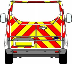FORD TRANSIT CUSTOM H1 EASY FIT Chevron Kit 2012+ 3/4 ENGINEERING CHAPTER 8
