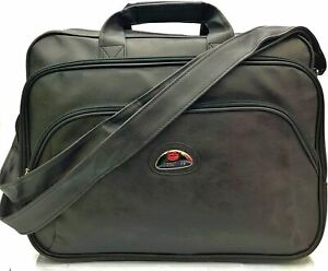 Faux Leather 13.3-14 Inch Laptop Bag Built-in Laptop Cases Sleeve Briefcase Bags