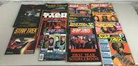 LOT OF 12 Star Trek Next Generation, Movies, & More Magazines Collectibles