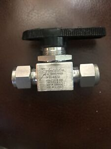 """Swagelok SS-43GS6   3/8""""tube Fitting            ball valve"""