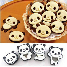 Popular Panda Shape Sandwich Mold Bread Cake Mold Maker DIY Mold Cutter Craft