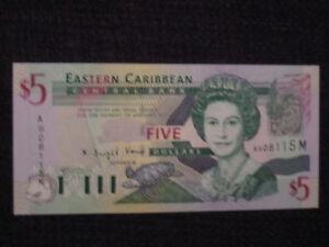 EAST CARIBBEAN STATES - 2003 ISSUE - $5 MONTSERRAT- UNC
