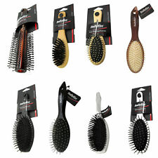 8 x BaByliss Childrens Adults Assorted Bristle Massage Easy Detangle Hairbrushes