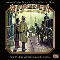 DER VERSCHWUNDENE KUTSCHER - SHERLOCK HOLMES-FOLGE 37   CD NEU
