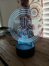 Atari 2600 5200 7800 Lighted Led Sign Lamp Display with remote (show it off)