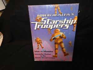 """Robert Heinlein's Starship Troopers Board Game WITH BOX .  """" UNPUNCHED """""""