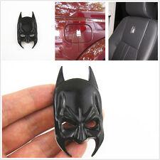 3D Nero Batman MASK ADESIVO BADGE AUTO SPORTELLO ANTERIORE CORPO lato dei parabordi TANK COVER