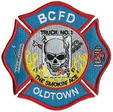 """Baltimore City Truck 1 """"The Smokin Ace* Oldtown"""" Fire Patch"""